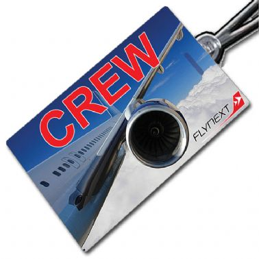 FLYNEXT web Crew Tag red